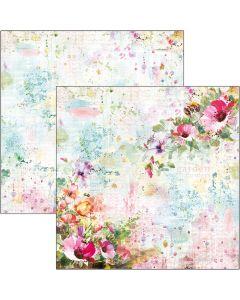Dvostranski papir - Wildflowers - 30,5x30,5cm - 190g