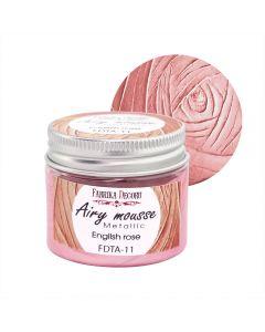 Airy mousse metallic - English rose - 50ml