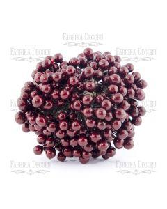Dekorativne jagode - Cherry - 9mm - 10 kos