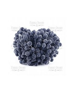 Dekorativne jagode - Black - 12mm - 10 kos