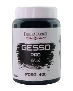 Gesso - črn - 400ml