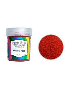 Barvni dekorativni pesek - Red -  0,1-0,3mm - 65g