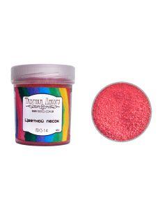 Barvni dekorativni pesek - Coral -  0,1-0,3mm - 65g