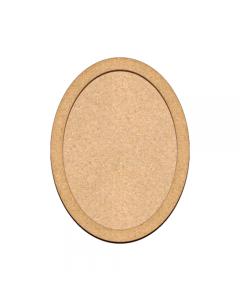 MDF osnova - ovalna - 20x30cm