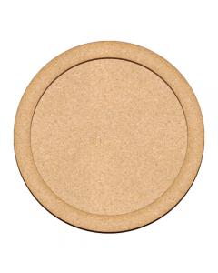 Mdf osnova - okrogla - 25cm