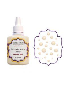Liquid enamel dots - Delicate beige - 30 ml