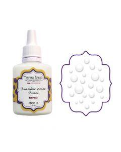 Liquid enamel dots - White - 30 ml
