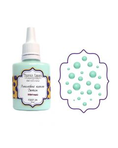 Liquid enamel dots - Mint - 30 ml
