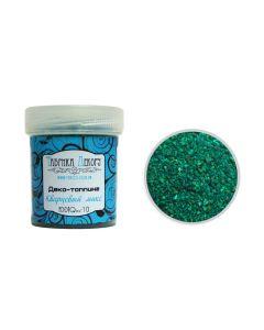 Dekorativni kremenčev pesek - mix Malachite - 1-3,5mm - 65g
