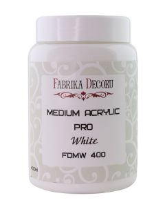 Premaz - medium acrylic White - 400ml