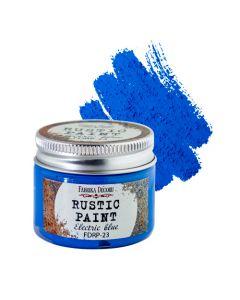 Rustic paint - Electric blue - 50ml