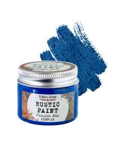 Rustic paint - Prussian blue - 50ml