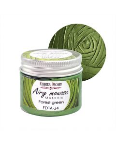 Airy mousse metallic - Forest green - 50ml