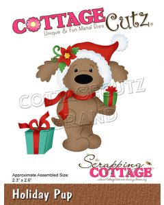 Rezalna šablona CottageCutz Holiday Pup