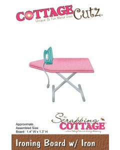 Rezalna šablona CottageCutz Ironing Board w/Iron