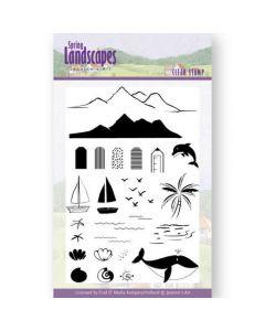 Štampiljka - Jeanines Art- Spring Landscapes Sea