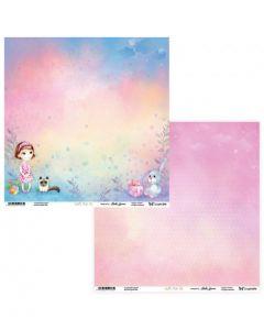 Dvostranski papir - Joyful Kids 01/02 - 30,5 x 30,5 cm - 250g
