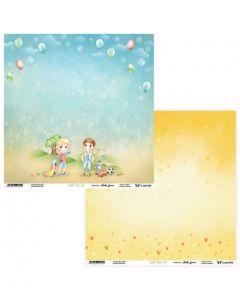 Dvostranski papir - Joyful Kids 03/04- 30,5 x 30,5 cm - 250g