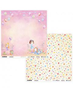 Dvostranski papir - Joyful Kids 05/06- 30,5 x 30,5 cm - 250g