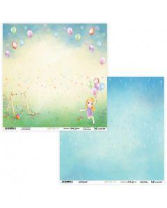 Dvostranski papir - Joyful Kids 09/10 30,5 x 30,5 cm - 250g