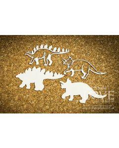 Chipboard izrezki - Dinozaver - Laserowe Love