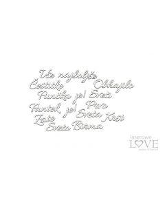 Laserski izrez - Mix napisov - Laserowe Love