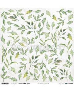Papir za rezanje - Leaves 4 - 30,5x30,5cm - 250g
