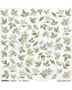 Papir za rezanje - Leaves 5 - 30,5x30,5cm - 250g