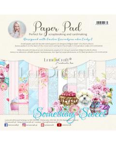 Set obojestranskih papirjev - Something Sweet - 15x15cm - 24 listov - 250g - Lemoncraft