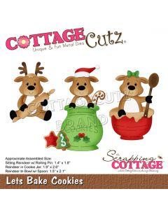Rezalna šablona CottageCutz Lets Bake Cookies