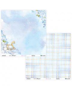Dvostranski papir - Little Cuties 01/02 - 30,5x30,5cm - 250g