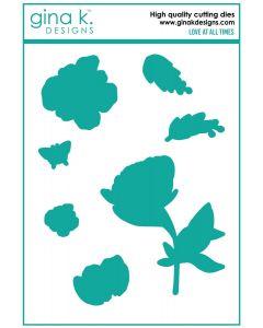 Rezalna šablona - Love at all times - Gina K Designs