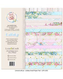 Set enostranskih papirjev - Lullaby 15,24 x 15,24 cm