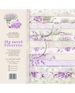 Set papirjev - My sweet Provence 15 x 15 cm