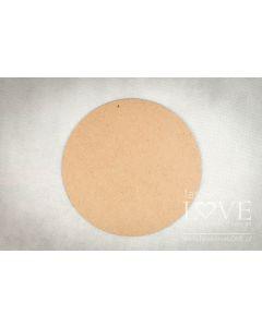 Lesena plošča - HDF - Krog - 20cm - Laserowe LOVE