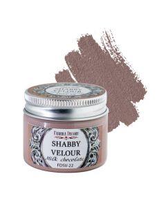 Akrilna barva - Shabby velour - Milk chocolate - 50ml