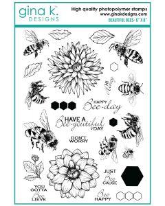 Štampiljka - BEAUTIFUL BEES - Gina K Designs