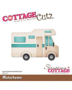 Rezalna šablona CottageCutz Motorhome