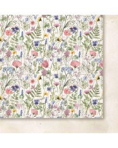 Dvostranski papir - Love notes 01 - 30,5x30,5cm -200g