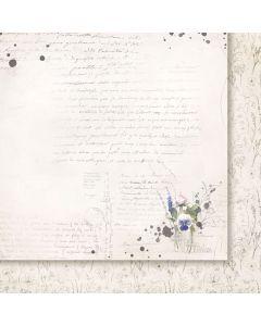 Dvostranski papir - Love notes 02 - 30,5x30,5cm -200g