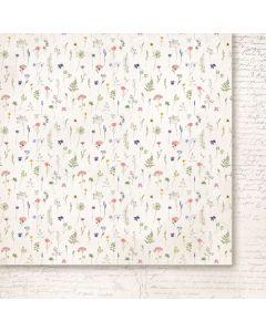 Dvostranski papir - Love notes 03 - 30,5x30,5cm -200g
