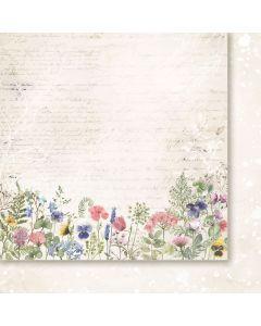 Dvostranski papir - Love notes 04 - 30,5x30,5cm -200g