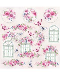 Papir za rezanje - Bright & Soft- Cover - 30,5x30,5cm - 250g