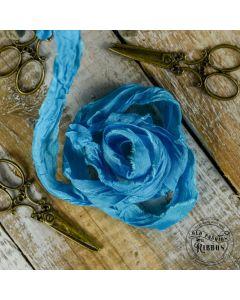 Dekorativni trak - Old Fashion Ribbon - Greek blue - 24 - 1x1,2m
