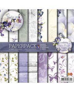 Set papirjev Precious Marieke - Voorjaars Collectie - 15,2x15,2cm - 24 listov