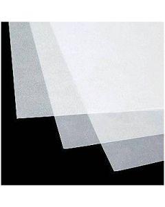 Paus papir Diamant - prosojen - 102g - 1 list