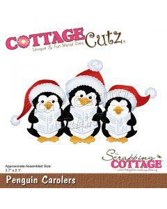 Rezalna šablona CottageCutz Penguin Carolers