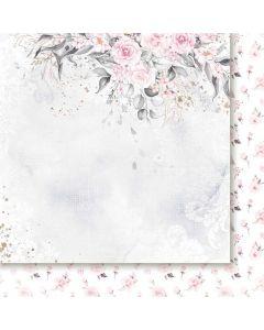Dvostranski papir - The rose and the ring 01 - 30,5x30,5cm -250g