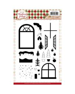 Štampiljka - Precious Marieke - Warm Christmas Feelings - 14,8x21cm