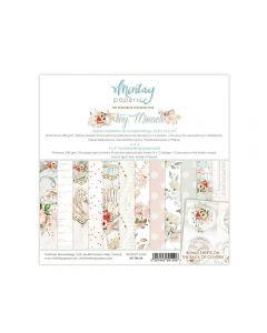 Set dvostranskih papirjev - TINY MIRACLE - 15X15cm - 24 listov + bonus - 240g - Mintay